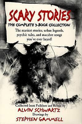 Scary Stories Boxed Set, Schwartz, Alvin, Good Book
