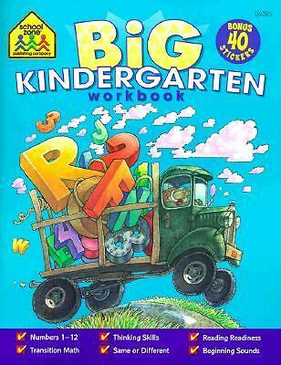 Big Kindergarten Workbook by School Zone Publishing Company (EDT)