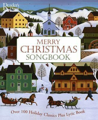 Merry Christmas Songbook, READERS DIGEST, Good Book