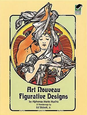 Art Nouveau Figurative Designs Dover Pictorial Archive