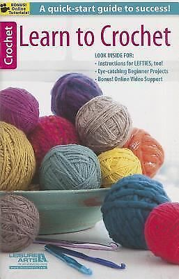 Learn to Crochet, Leisure Arts, Good Book