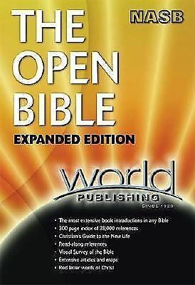NASB Open Bible Expanded Edition