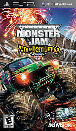 Monster Jam 3: Path of Destruction - Sony PSP, Good Sony PSP, Sony PSP Video Gam