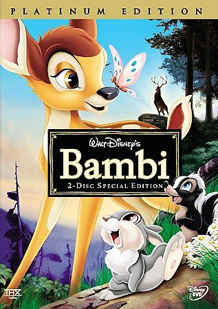 Bambi (2-Disc Special Platinum Edition), Good DVD, Hardie Albright, Stan Alexand