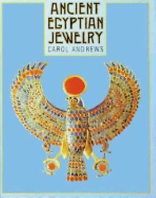 Ancient Egyptian Jewelry, Andrews, Carol, Good Book