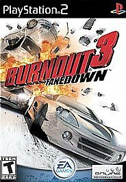 Burnout 3 Takedown, Good Playstation 2 Video Games