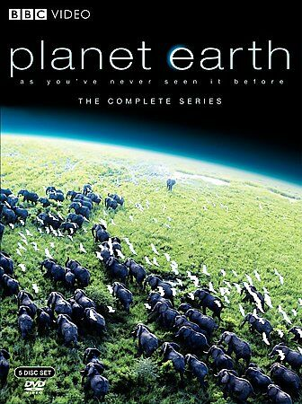 Planet Earth: The Complete BBC Series, Good DVD, David Attenborough,