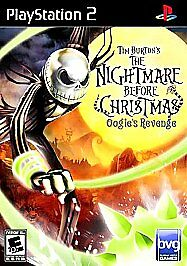 The Nightmare Before Christmas: Oogie's Revenge, Good PlayStation2, Playstation