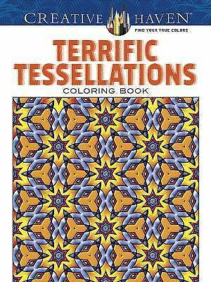 Creative Haven Terrific Tessellations Coloring Book (Adult Coloring), Alves, Joh