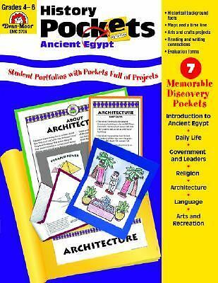History Pockets: Ancient Egypt: Grades 4-6+ by Marc Tyler Nobleman