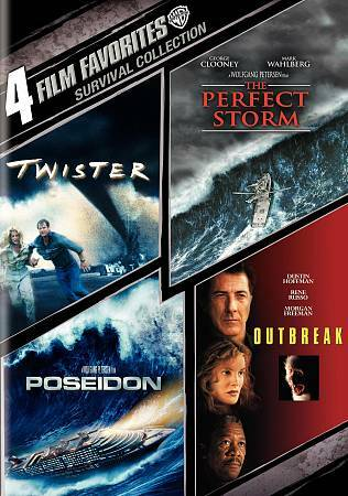 4 Film Favorites: Survival Collection (Twister / The Perfect Storm / Outbreak /