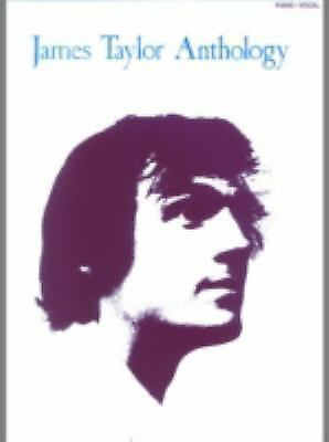 James Taylor: Anthology (Piano/Vocal/Guitar Artist Songbook) by Taylor, James