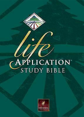 Life Application Study Bible NLT, Large Print (New Living Translation), , Good B