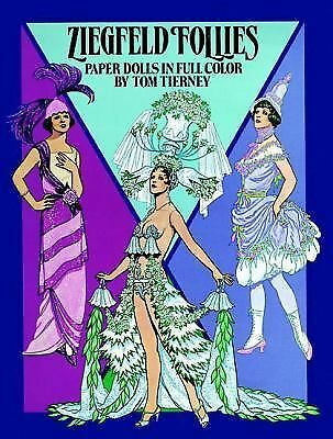 Ziegfeld Follies Paper Dolls (Dover Paper Dolls) by Tom Tierney