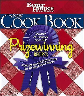 Better Homes and Gardens New Cook Book, Limited Edition: Prizewinning Recipes (B