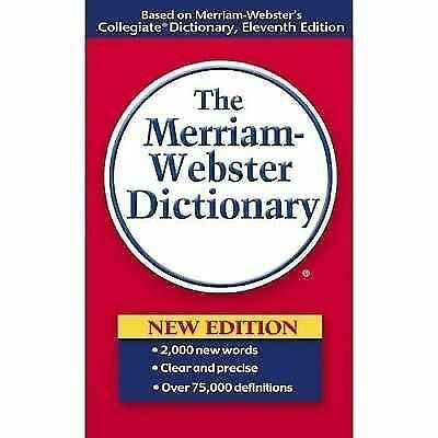 The Merriam-Webster Dictionary, Merriam-Webster, Good Book