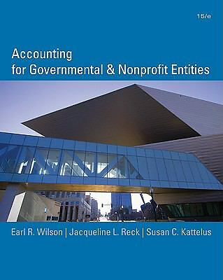 Accounting for Governmental and Nonprofit Entities, Kattelus, Susan, Reck, Jacqu