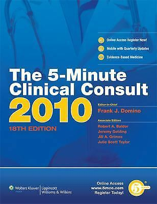The 5-Minute Clinical Consult 2010 (Print, Website, and Mobile) (The 5-Minute C