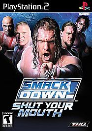 WWE Smackdown! Shut Your Mouth, Good PlayStation2, Playstation 2 Video Games