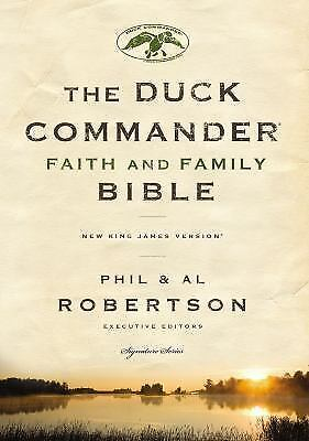 NKJV, Duck Commander Faith and Family Bible, Hardcover Signature