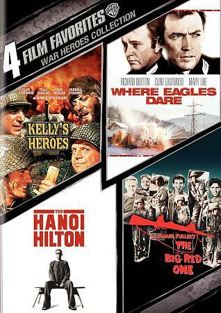 4 Film Favorites: War Heroes (The Big Red One, The Hanoi Hilton, Kelly's Heroes,