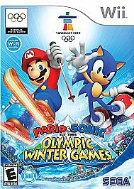 Mario and Sonic at the Olympic Winter Games, Good Nintendo Wii, Nintendo Wii Vid