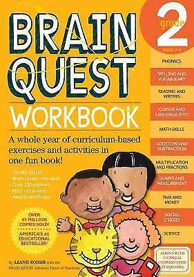 Brain Quest Workbook: Grade 2, Liane Onish, Good Book