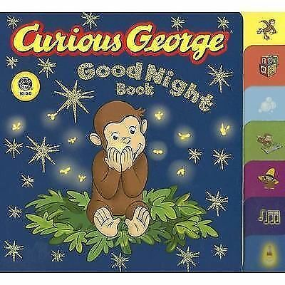 Curious George Good Night Book (CGTV Tabbed Board Book), Margret Rey, H. A. Rey,