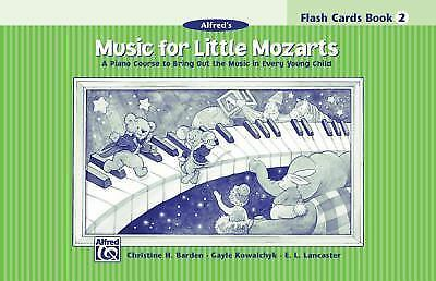Music for Little Mozarts: Flash Cards Book 2 (Music for Little Mozarts) by Bard