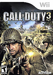 Call Of Duty 3 - Nintendo Wii, Good Nintendo Wii, nintendo_wii Video Games