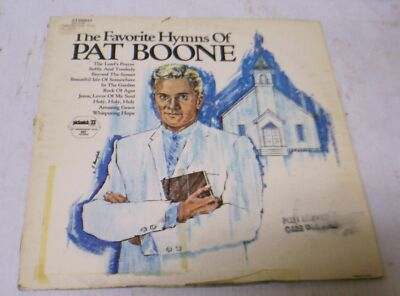 The Favorite Hymns of Pat Boone