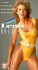 Jane Fonda's Workout:  Lean Routine [VHS]