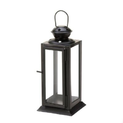 STARLIGHT CANDLE LANTERN IN BLACK OR WHITE