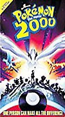 POKEMON THE MOVIE 2000  WARNER BROTHERS ANIMATED  VHS