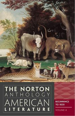 The Norton Anthology of American Literature (Eighth Edition)  (Vol. A), , Good B