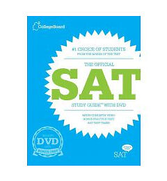 The Official SAT Study Guide with DVD, The College Board, Good Book