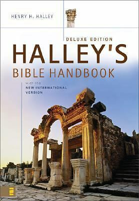 Halley's Bible Handbook with the New International Version---Deluxe Edition, Hal
