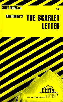 THE SCARLET LETTER Cliff's Notes Cliff Notes