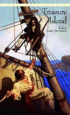 TREASURE ISLAND by Robert Louis Stevenson a Bantam Classic PB