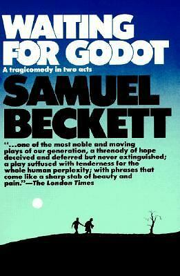 WAITING FOR GODOT by Samuel Beckett 2 act tragicomedy HARDCOVER!!!
