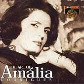 THE ART OF AMALIA RODRIGUES cd