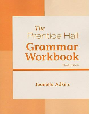 Pearson Grammar Workbook (3rd Edition), Adkins, Jeanette, Good Book