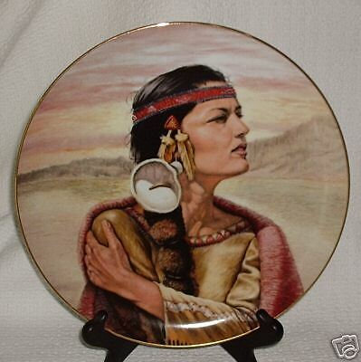 Perillo SHIMMERING WATERS 1st Maidens Series Vague Shadows Collector Plate