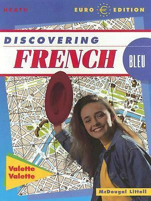 Discovering French-Bleu: Level 1, Jean-Paul Valette, Rebecca M. Valette, Good Bo