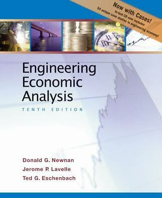 Engineering Economic Analysis, Lavelle, Jerome P., Eschenbach, Ted G., Newnan, D