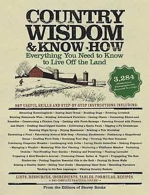 Country Wisdom & Know-How, The Editors of Storey Publishing's Country Wisdom Boa