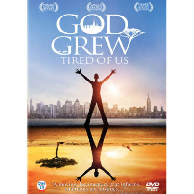 GOD GREW TIRED OF US dvd the Lost Boys of Sudan narrated by Nicole Kidman