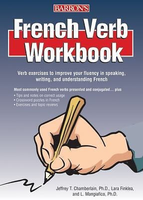 Barron's FRENCH VERB WORKBOOK exercises to improve fluency