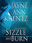 SIZZLE AND BURN by Jayne Ann Krentz LARGE PRINT    Arcane Society HB