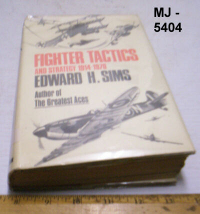 Fighter Tactics and Strategy 1914-1970 by Edwards Sims